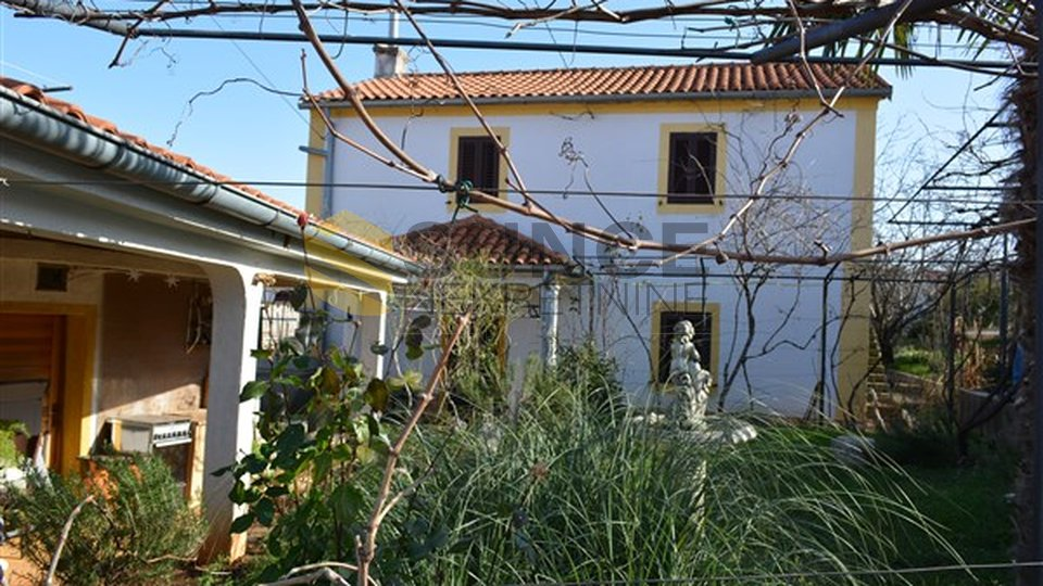The island of Krk, Soline bay, detached house with a view! Opportunity!