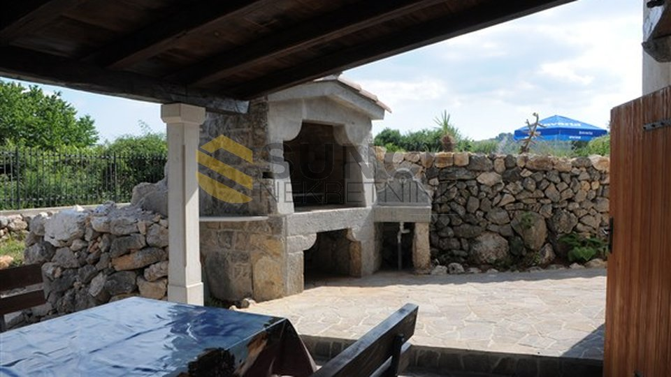 The island of Krk, Vrbnik,  renovated old stone house with a swimming pool!