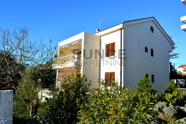 The island of Krk, Krk, detached house with two apartments, on a beautiful location first row to the sea!
