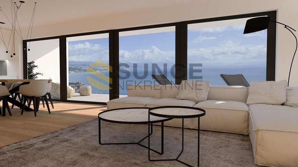 OPATIJA, Luxusapartment mit offenem Meerblick!