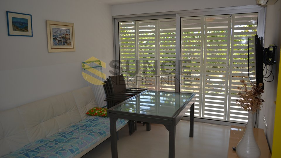 The town of Krk two-storey modern apartment with garden and view! OPPORTUNITY!