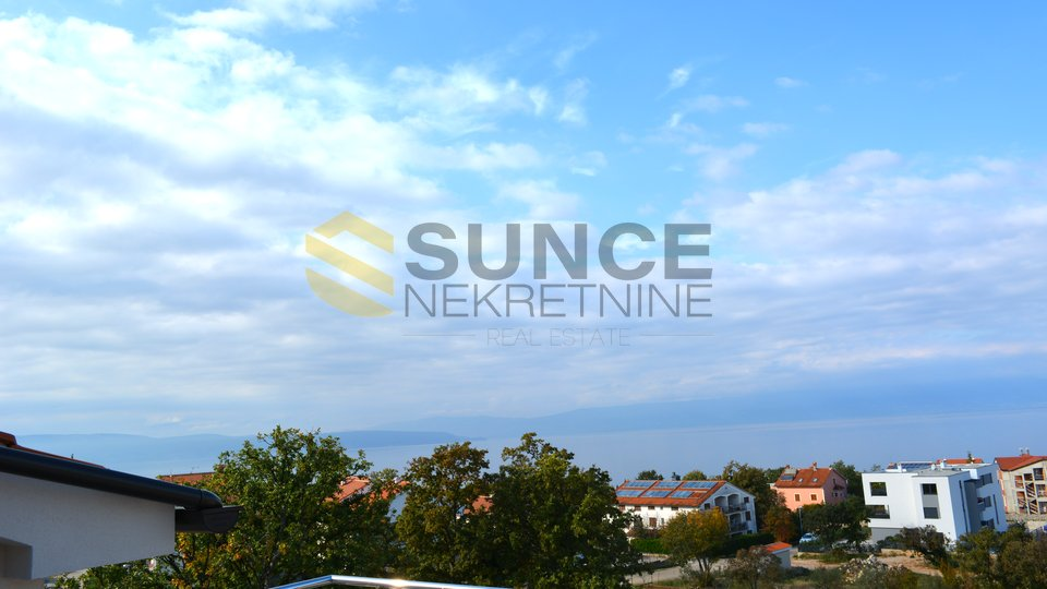 ISLAND OF KRK, NJIVICE, NEW APARTMENT WITH GARDEN AND BEAUTIFUL SEA VIEW!