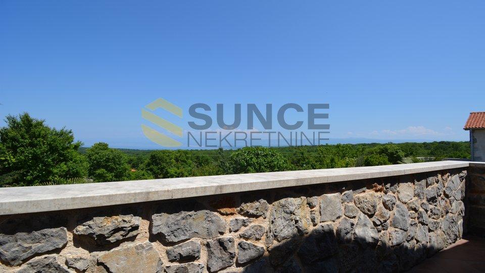Die Insel Krk neues Steinhaus mit Meerblick!
