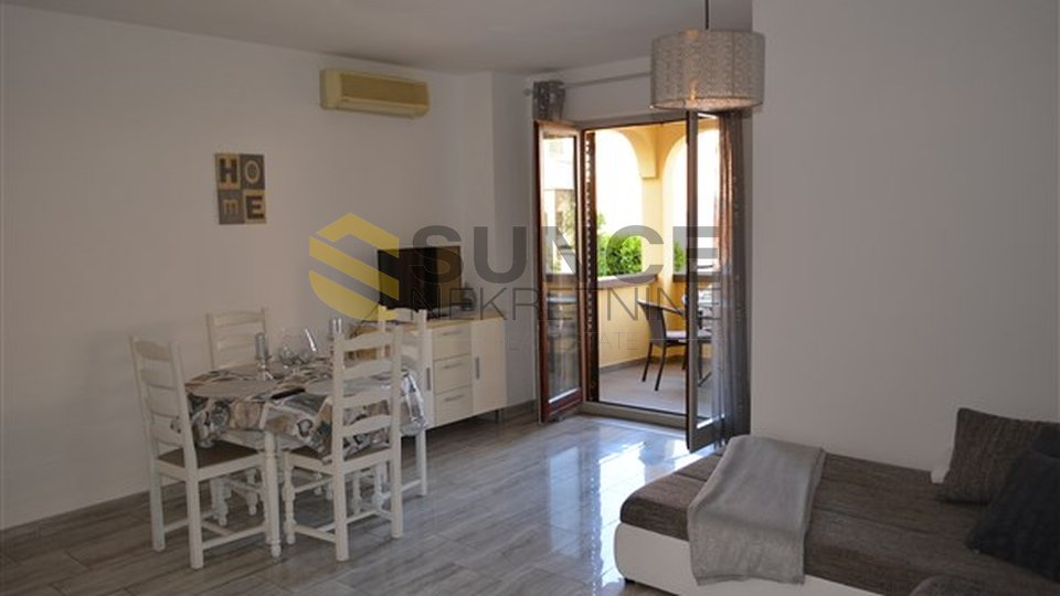 Malinska, apartment of 50m2 with two bedrooms, fully furnished!