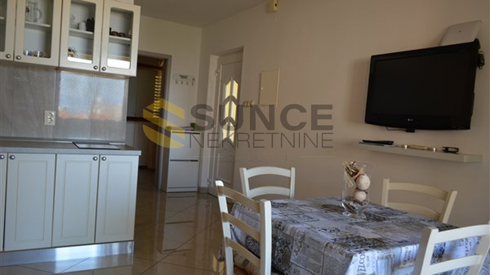 Malinska, furnished apartment, two bedroom with sea view! Opportunity!